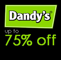 up to 75% off at Dandy's Garden Centre