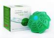 Green laundry with SmartKlean Laundry Ball