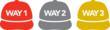 Way 1 Way 2 Way 3