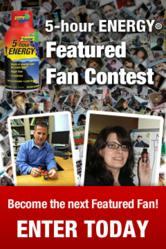 5-hour ENERGY® Featured Fan