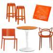 Tangerine Tango Kartell furniture