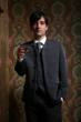 Custom suit, made to measure suit, mod suit, 60s suit, wedding suit