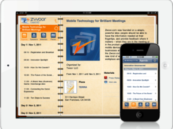 Conference, Tradeshow, Corporate Meeting, Mobile App, iPhone, iPad