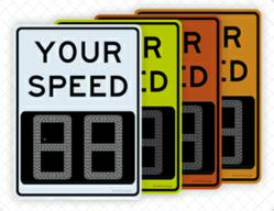 DriveBrite™ Urban Driver Feedback Signs