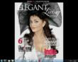 "Dr. Khanna and Aishwarya Rai Bachchan, ""The Most Beautiful Woman on Earth,"" Featured in Elegant Living Magazine"