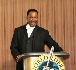 Rev. Alfreddie Johnson, who founded the World Literacy Crusade 20 years ago