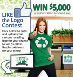 College and University Recyclign Logo Contest Busch Systems