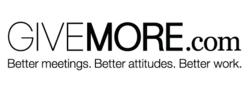 GiveMore.com creates products that make meetings better (really).