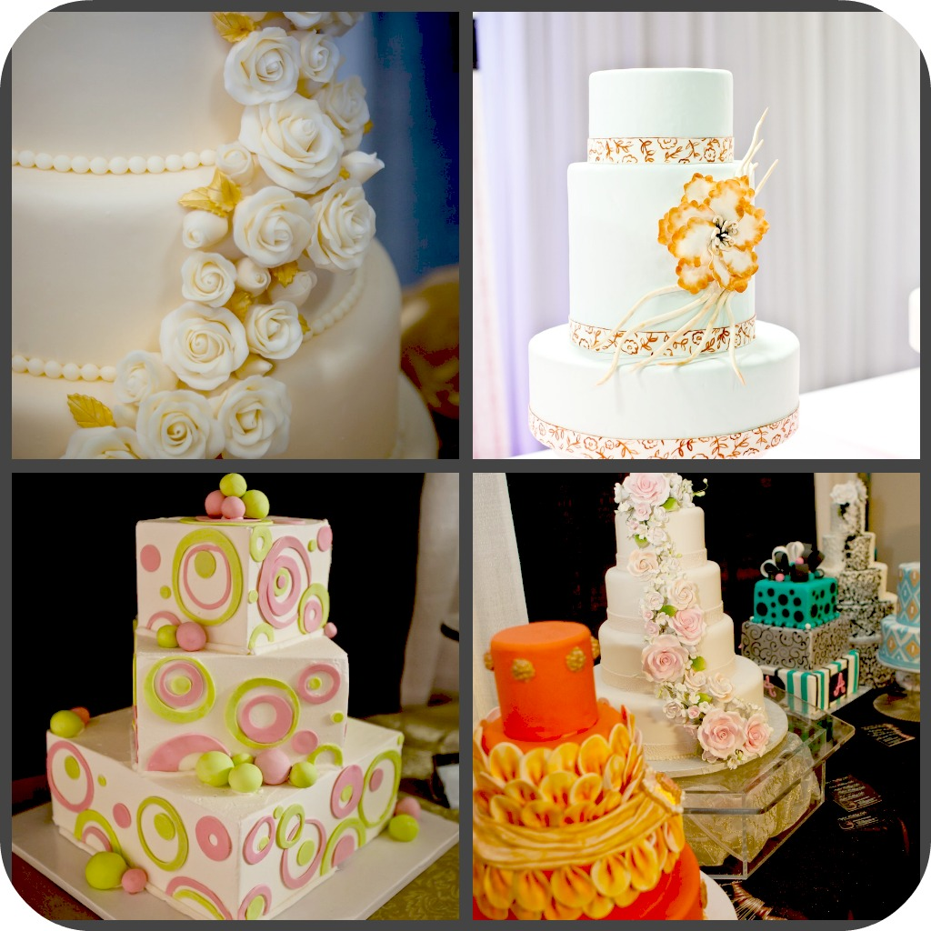 wedding cake gallery at the bridal extravaganza of atlanta