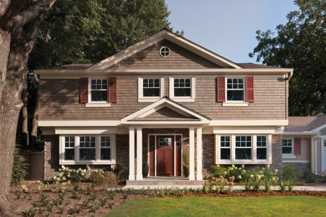 Exterior Home Improvements exterior home improvement about us exterior qualities home improvement company sylvania best set Try Taking The Home Beyond Just A Single Upgrade And Revamp The Whole Exterior Like This House Which Was Remodeled With The Designed Exterior By Ply Gem