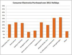 100 Percent of Surveyed Consumers Bought an Electronic Device over the Holidays