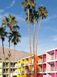 Exterior of The Saguaro Palm Springs Photo by Paul Dyer.