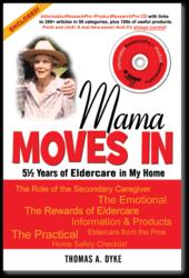 Original Elder Care Book Cover for Mama Moves In