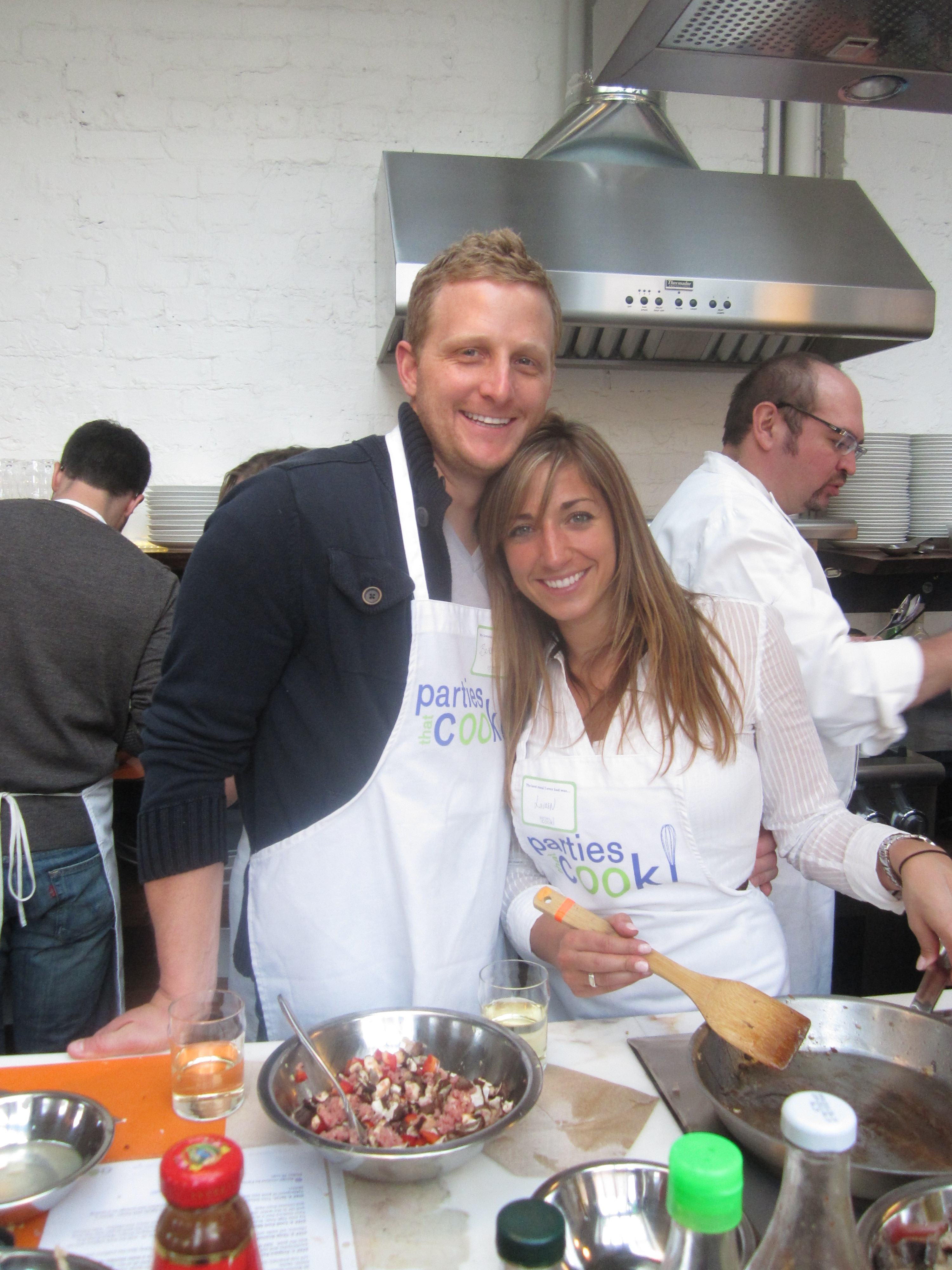 Parties That Cook Promotes Love with Valentines Day Couples