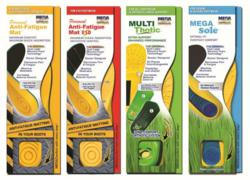 MEGAComfort Ergonomic Anti-Fatigue Insoles and Orthotics