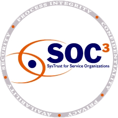 SOC 3 SysTrust Seal