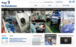 Tijuana Mexico Manufacturing Industry costs information