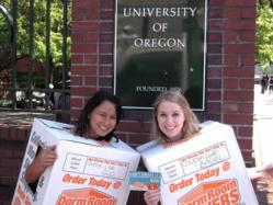 Dorm Room Movers Brand Ambassadors at University of Oregon
