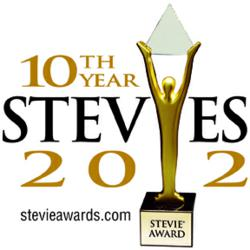 Stevie Awards 2012 Logo
