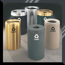 Glaro RecyclePro Recycling Receptacles with 1 to 3 Day Shipping