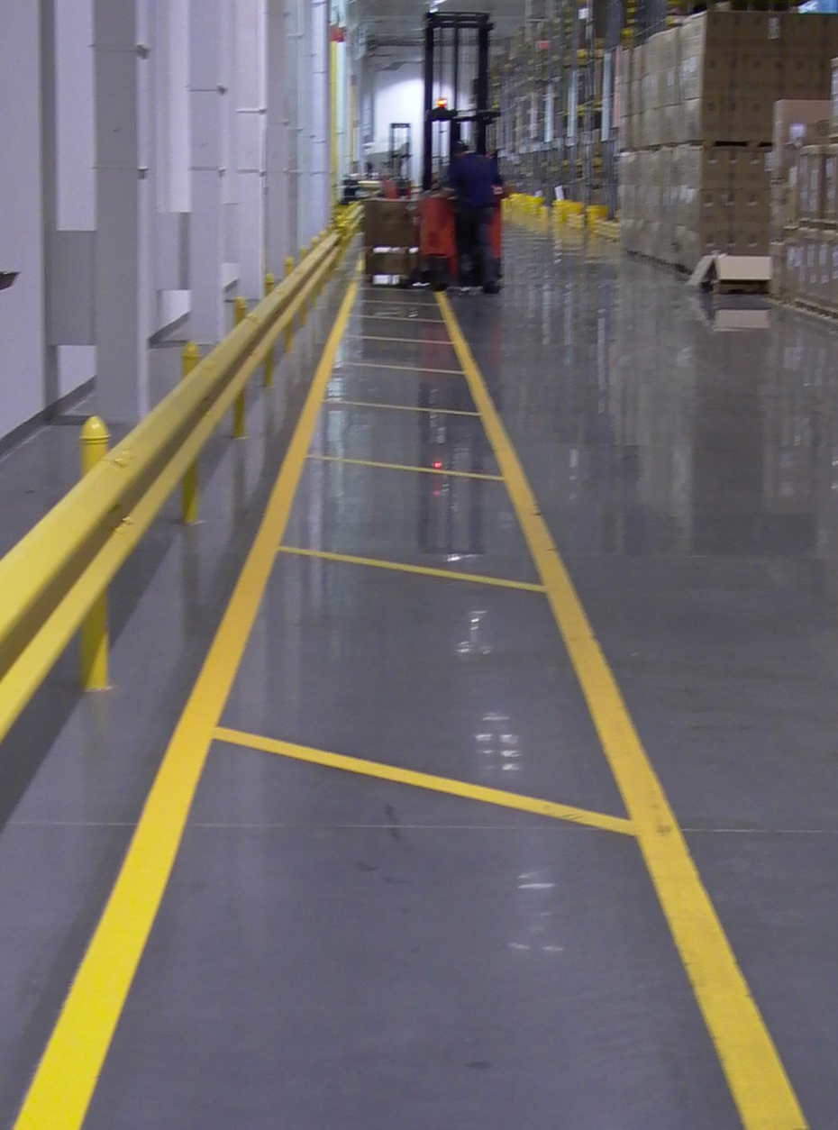 Stop Painting Com Offers Aisle Marking Tape Samples For