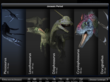 Over 60 fully animated dinosaurs!