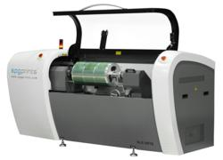 Stork Prints DLE 6510 with new AVCE direct engraving material