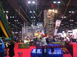 Booth 3700 at the 2011 IAAPA Orlando Florida show was the center of attention and fun.