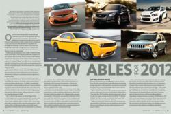 Family Motor Coaching magazine's Towables for 2012