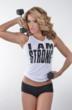 "Jennifer Nicole Lee ""I AM STRONG"" www.JNLClothing.com Tank Top"