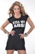 "Jennifer Nicole Lee ""KISS MY ABS"" www.JNLClothing.com"