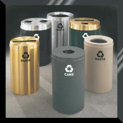 Glaro Quick Ships Over 2500 Products In 1 to 3 Days, Including These RecyclePro Recycling Receptacles