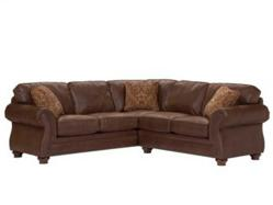 Broyhill Laramie 5080 Sectional Sofa in Brown