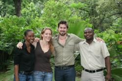 The staff of the whl.travel local partner in Malawi