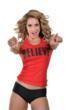 Jenifer Nicole Lee www.JNLClothing.com Red Believe Shirt