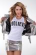 Jennifer Nicole Lee www.JNLClothing.com Believe Shirt