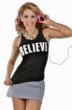 Jennifer Nicole Lee www.JNLClothing.com Believe T-shirt