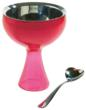 Big Love Ice Cream Bowl with Spoon by Alessi