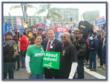 Steve Ipsen stands with his brothers and sisters in support of organized labor.