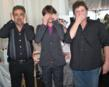 """Criminal Minds"" Joe Montagna, ""Breaking Bad"" RJ Mitte, and ""Glee"" star Dot-Marie Jones at the GBK Golden Globes Gift Suite 2012"