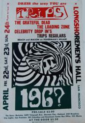 The Grateful Dead and The Loading Zone from the Longshoremans Hall in San Francisco, California