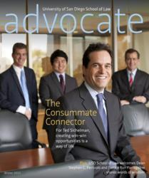 Cover for USD Advocate magazine