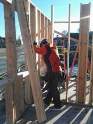 The corporate office staff of Sound Telecom, a leading nationwide provider of telephone answering, call center and unified communication services supports Habitat for Humanity Seattle/South King County