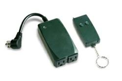 The Wireless Remote Control Outlet & Switch allows you to turn your heated snow-melting mats on and off from inside your home (photo)