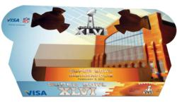 VISA Sponsored BRANDedTRAY for Super Bowl XLVI