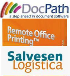 Salvesen Logistica & DocPath Remote Office Printing