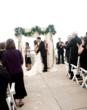 Outdoor weddings are popular at The Cliff House Resort & Spa in Maine.