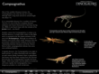 Compsognathus turntable and 3D models of ancient life (it's diet)