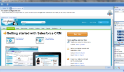 Contact Center User Interface with CRM Integration