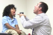 Dr. Tim Watson treating young patient